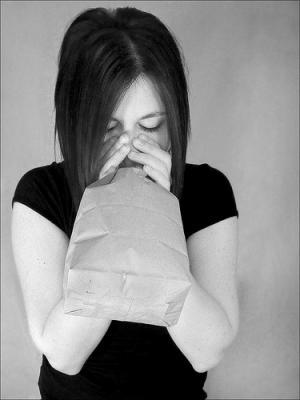 Napad panike i disanje